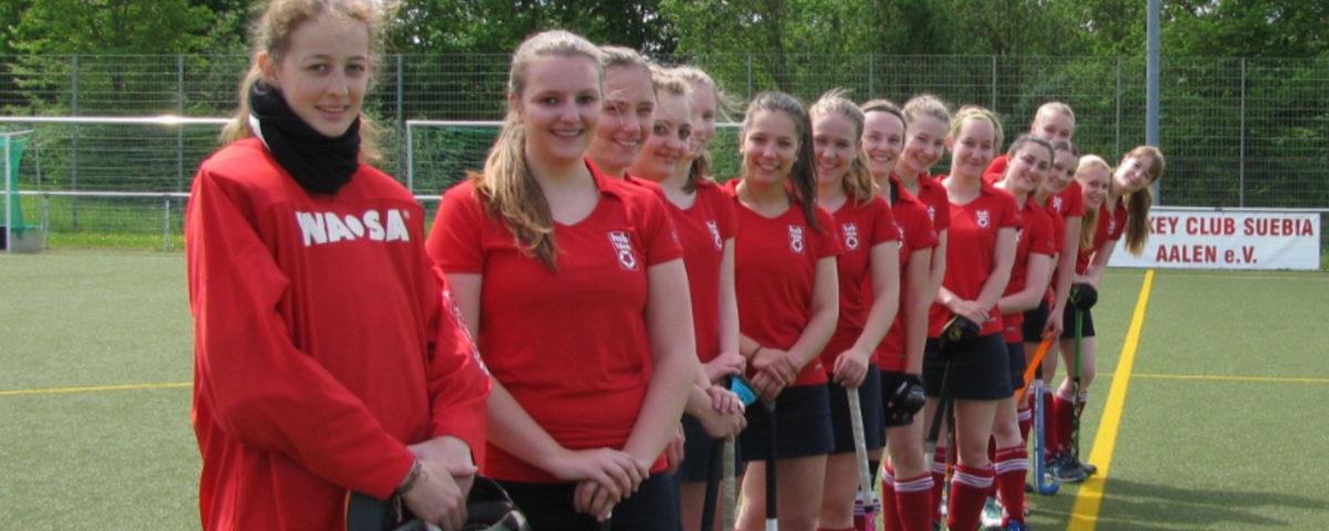 Spielbericht: 1. Damenmannschaft Spielgemeinschaft (SG) HC Suebia Aalen und HSB Heidenheim gegen den Freiburger FT
