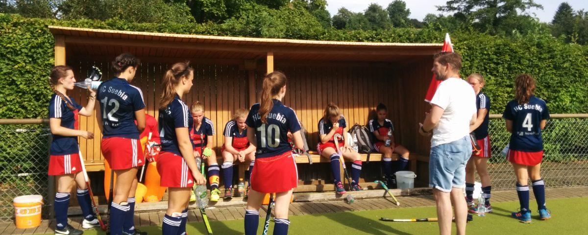 Letztes Gruppenspiel der wJB in Lahr
