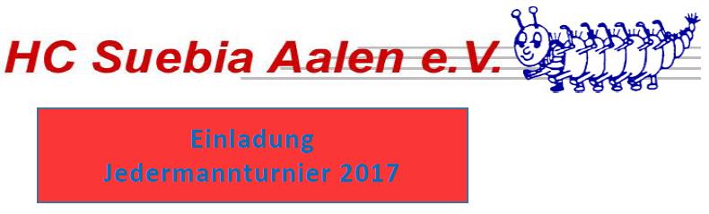 Einladung Jedermannturnier 2017
