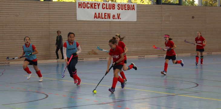 Hockey: Suebia-Mädchen-Cup in Aalen 28-29.10.17