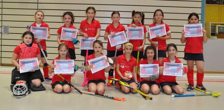 Mädchen C I und C II beenden die Hallenrunde mit einem Doppelspieltag