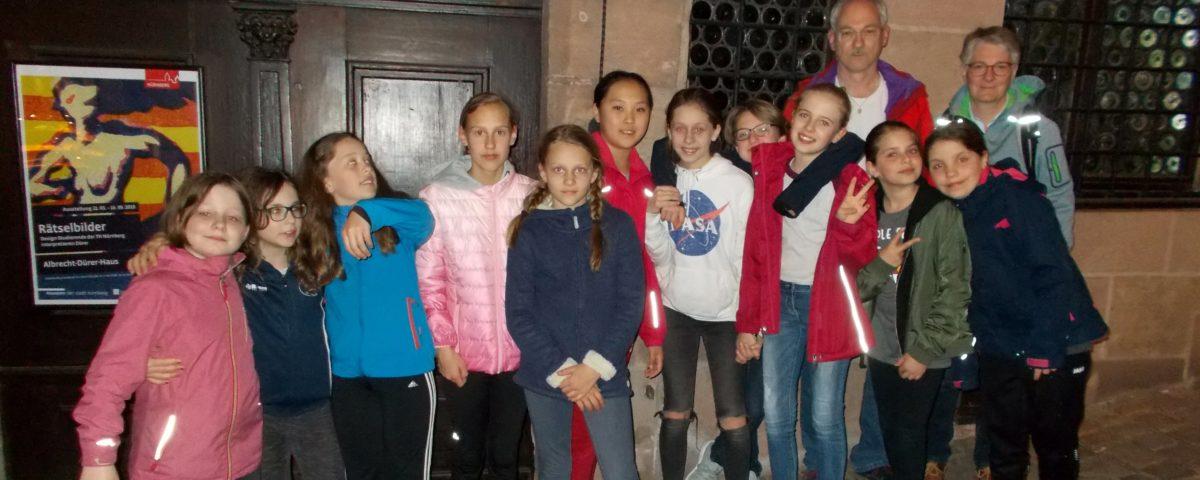 Mädchen B – Vorbereitungsturnier beim TB Erlangen