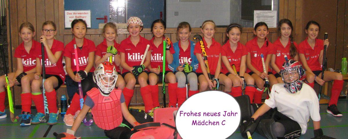 Mädchen C – Neujahrsgrüsse aus Heilbronn