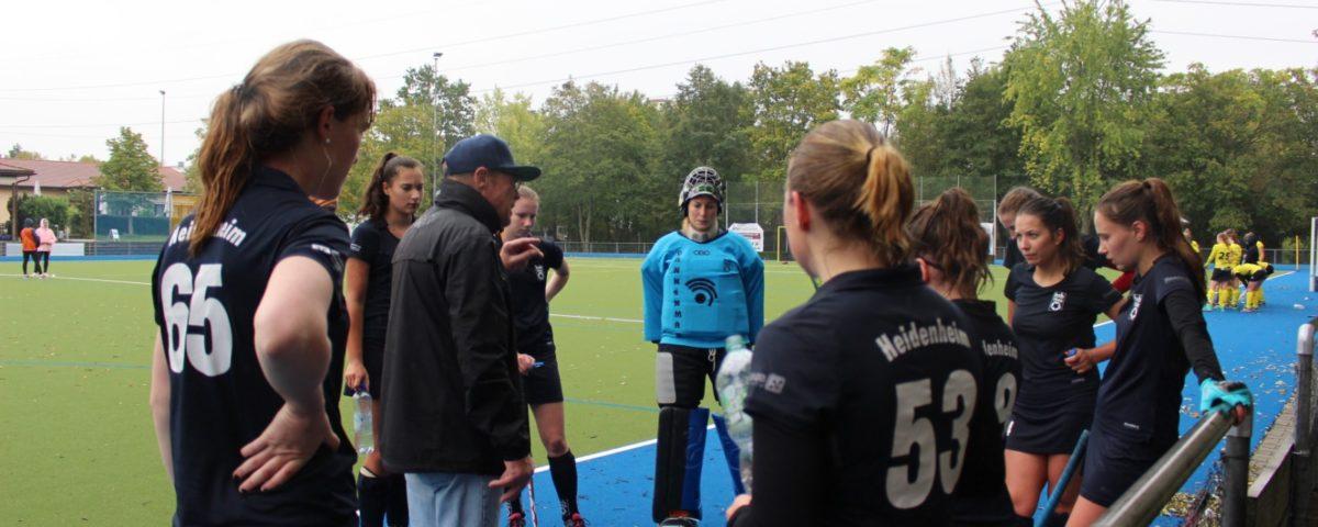 Spielgemeinschaft der Damen gegen Ludwigsburg