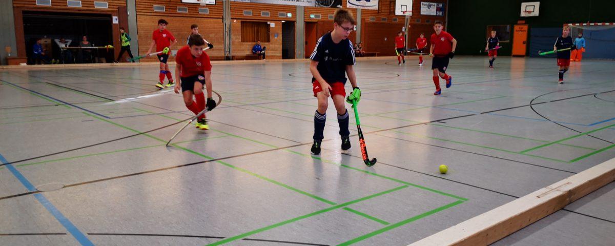 Knaben B starten stark in die Oberliga-Hallenrunde