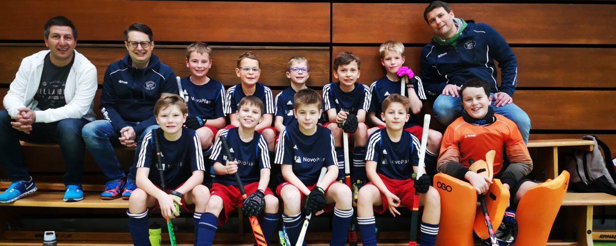 Knaben B starten souverän in die Verbandsliga-Hallenrunde
